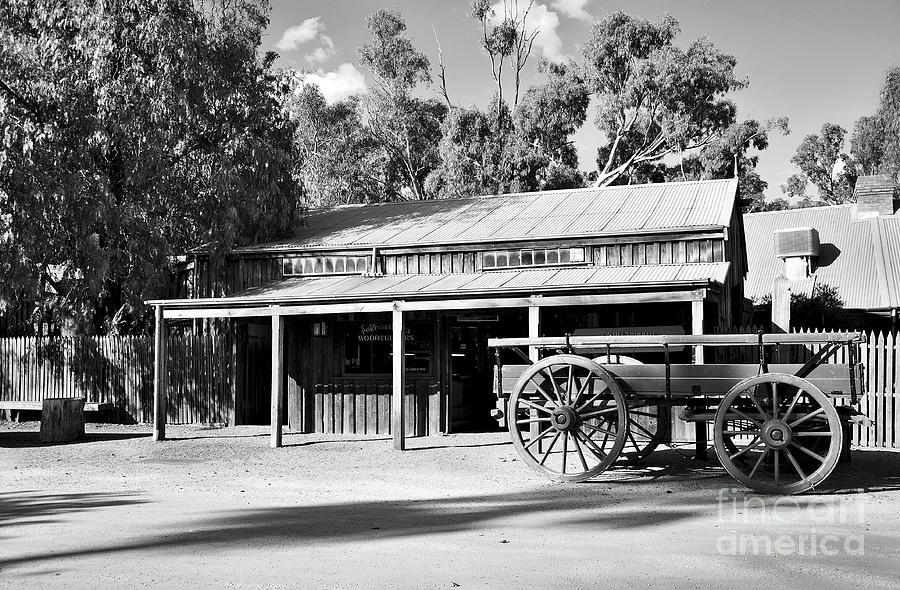 Heritage Town Of Echuca - Victoria Australia Photograph