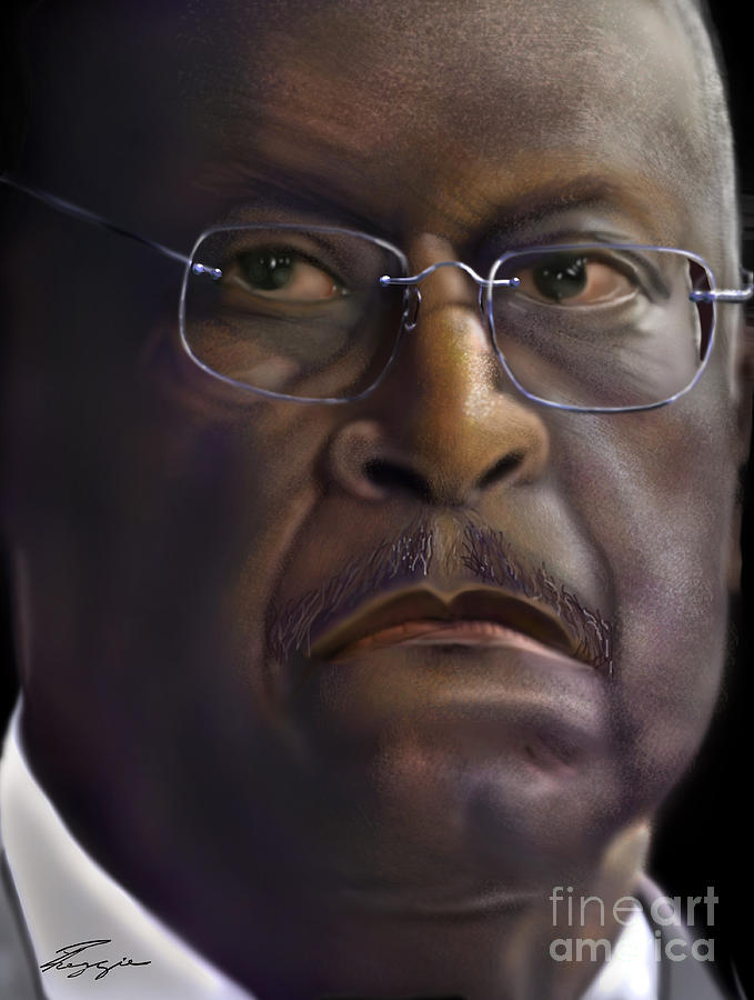 Herman Razing Cain Painting