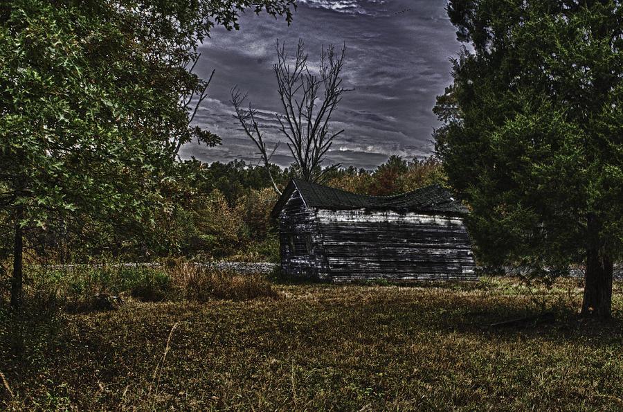 Collapse Photograph - Hermit Life by Ryan Crane