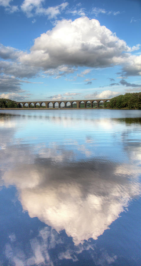 Hewenden Reservoir & Viaduct, Yorkshire Photograph