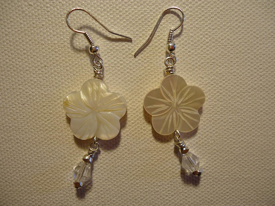 Hibiscus Hawaii Flower Earrings Photograph