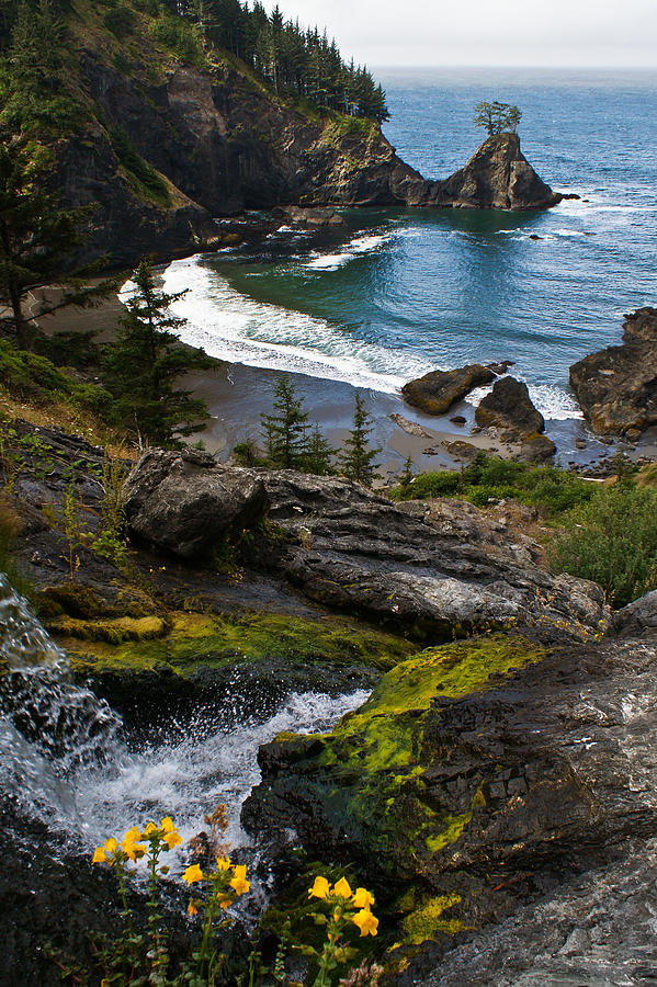 Hidden Cove Photograph  - Hidden Cove Fine Art Print
