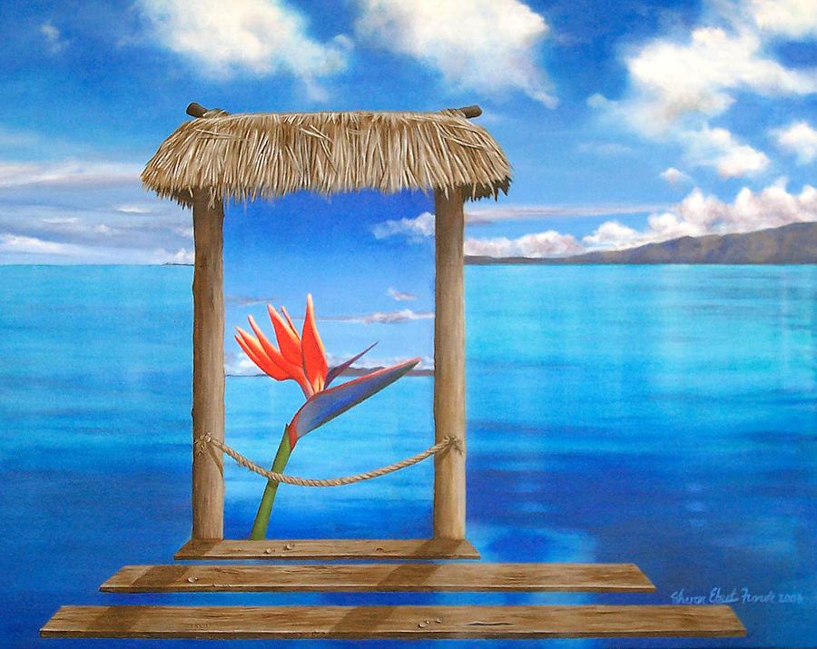 Hidden Paradise Painting