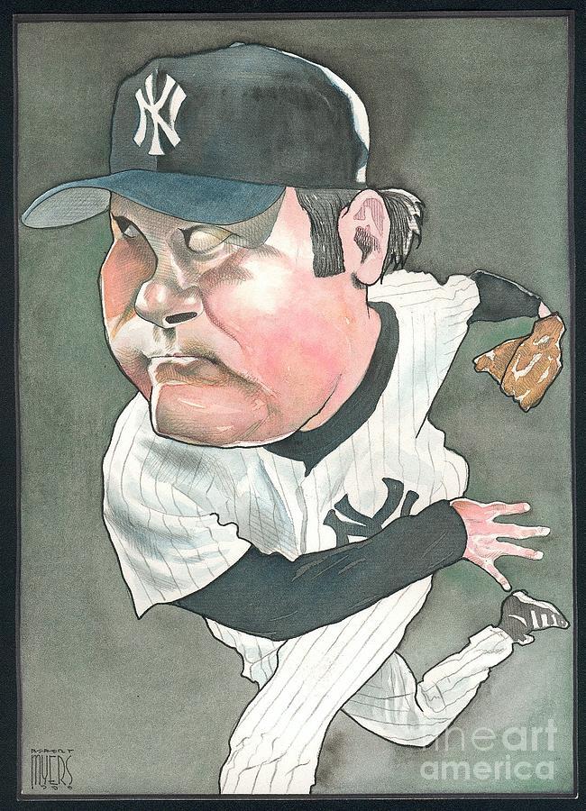 Hideki Irabu Painting