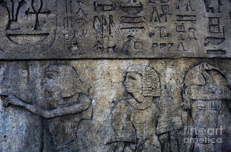 Hieroglyphs Photograph