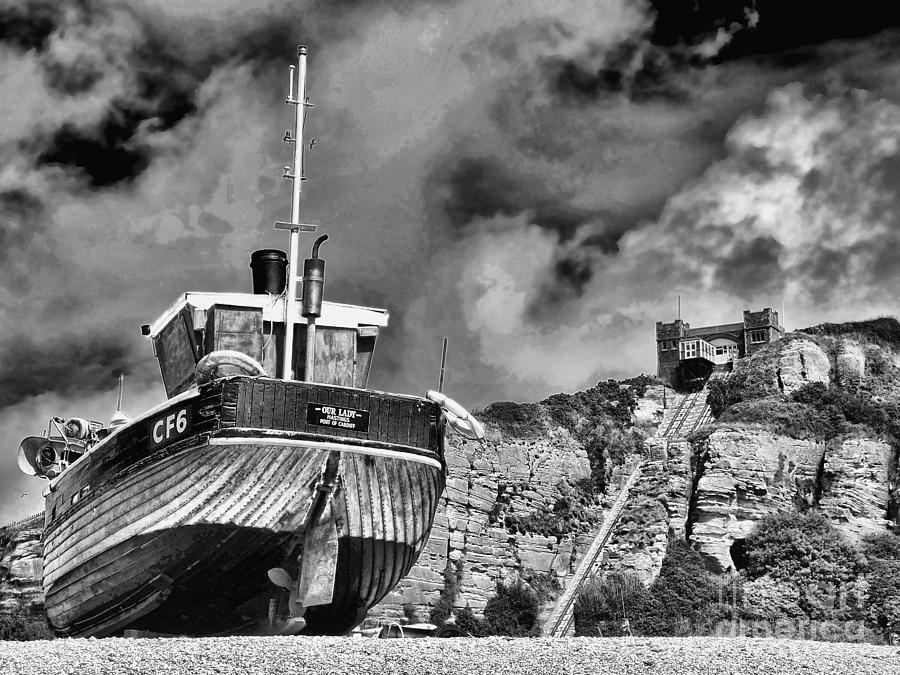 Funicular Railway Hastings Photograph - High And Dry 2 by Graham Taylor
