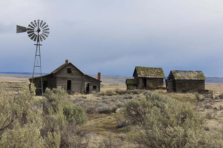 High Desert Homestead is a photograph by Kurt Christensen which was ...: http://fineartamerica.com/featured/high-desert-homestead-kurt-christensen.html