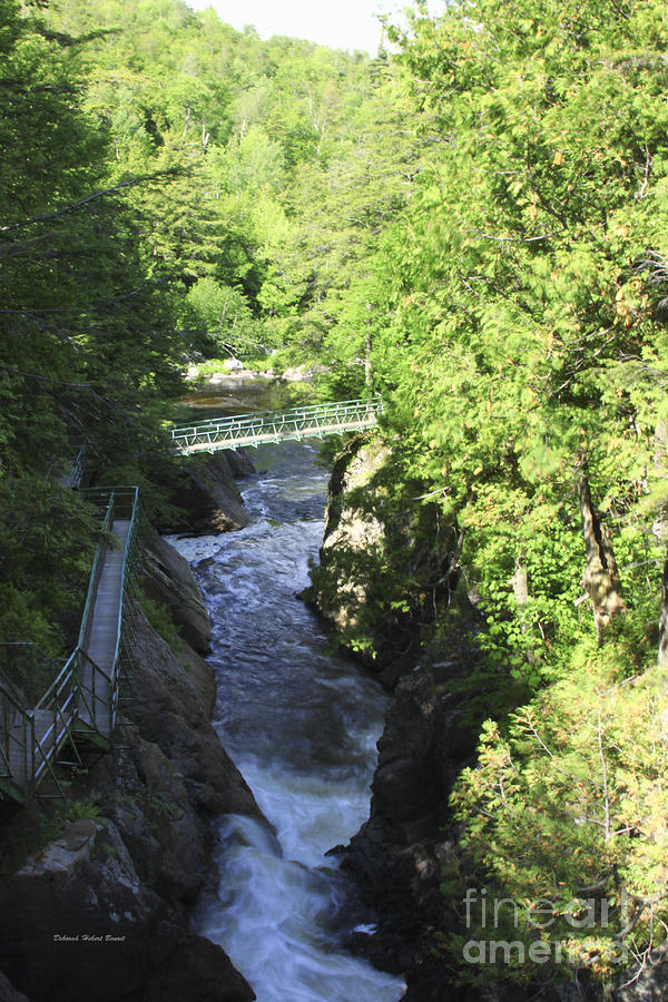 High Falls Gorge Photograph