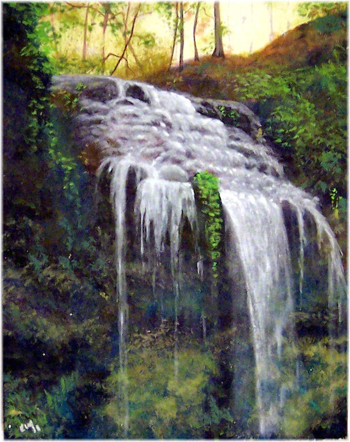 High Falls Painting
