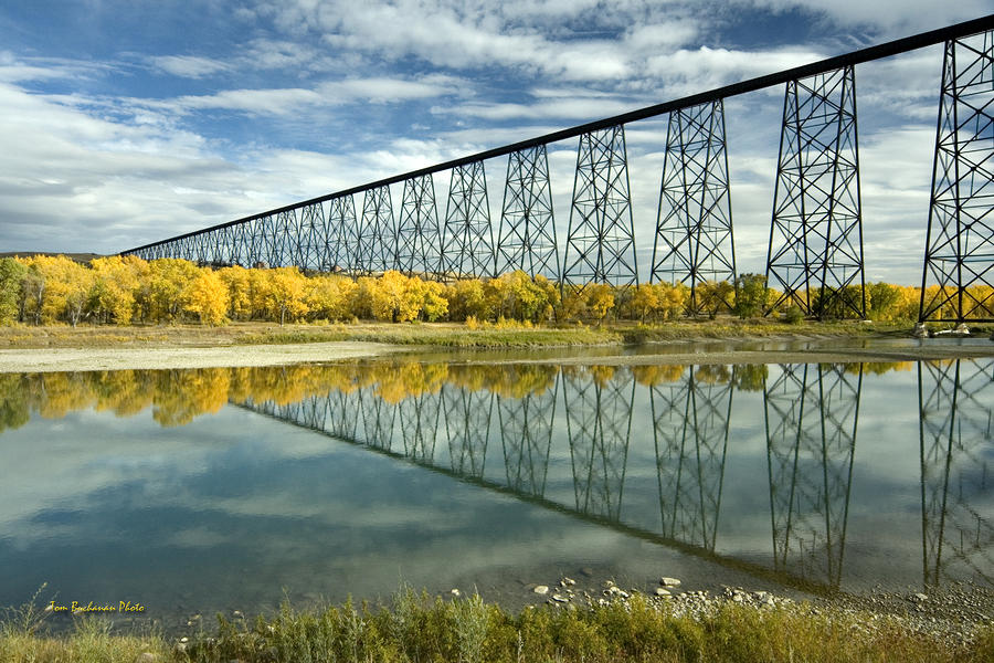 High Level Bridge In Lethbridge Photograph