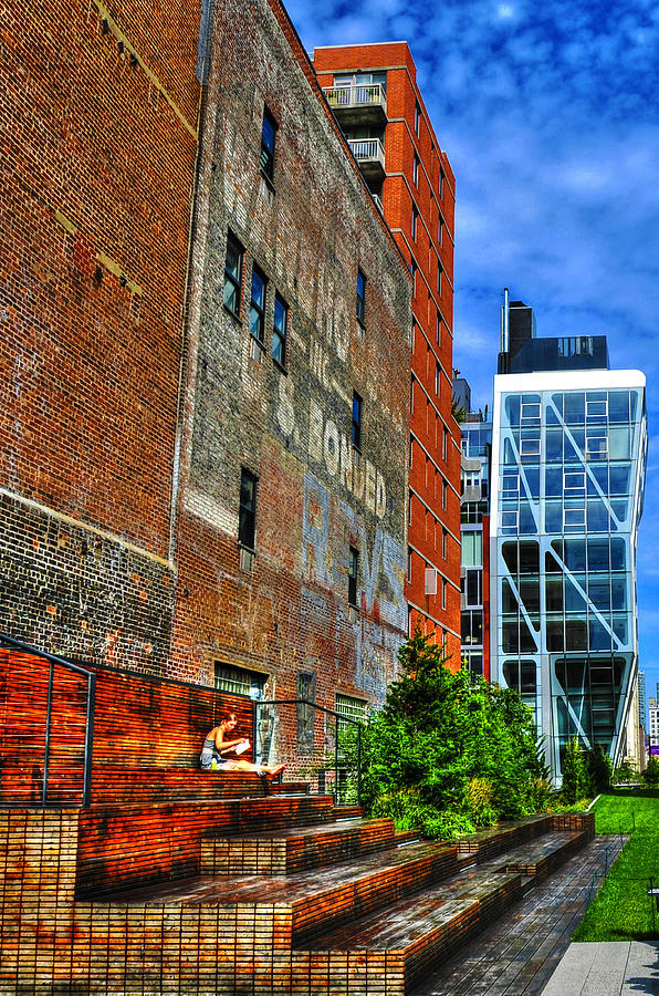 High Line Park Photograph - High Line Park Scene by Randy Aveille