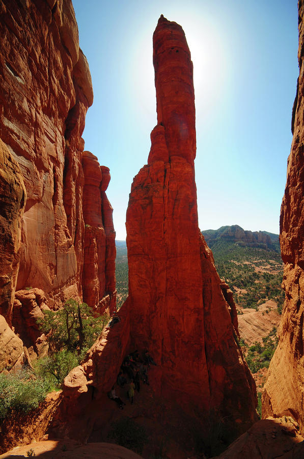 High Noon At Cathedral Rock Photograph