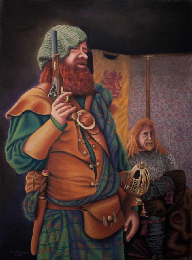 Highlanders Painting  - Highlanders Fine Art Print