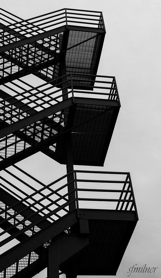 Urban Photograph - Highrise Escape by Steven Milner