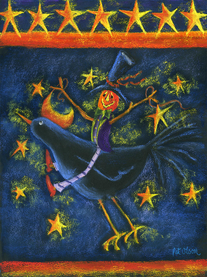Hiho Mr. Crow Pastel