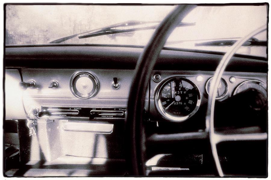 Hillman Minx Dashboard Photograph