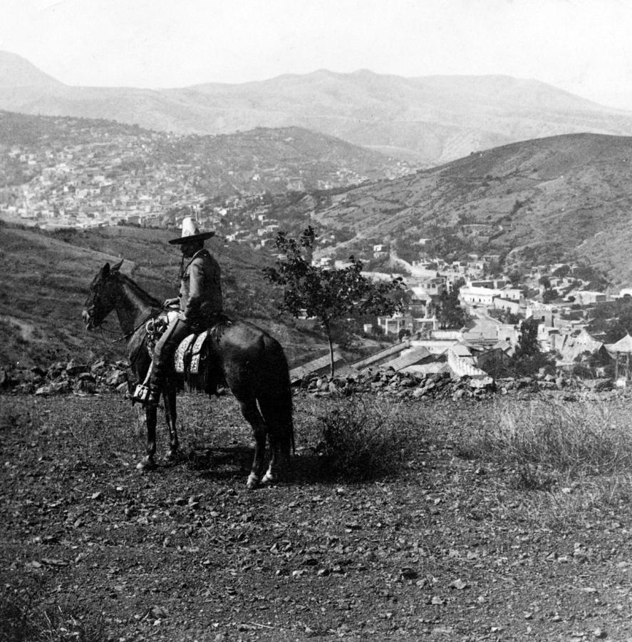 Hills Of Guanajuato - Mexico - C 1911 Photograph