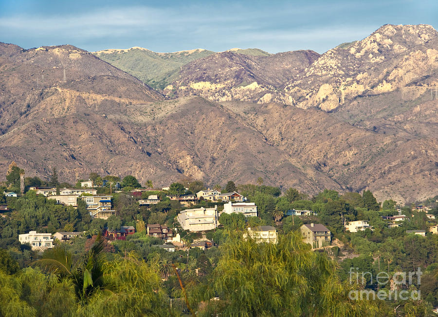 Hilly Residential Area Photograph