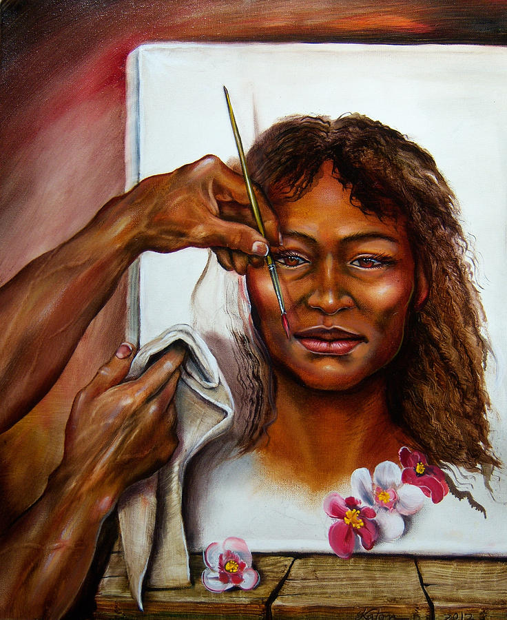 His Dream Girl Painting