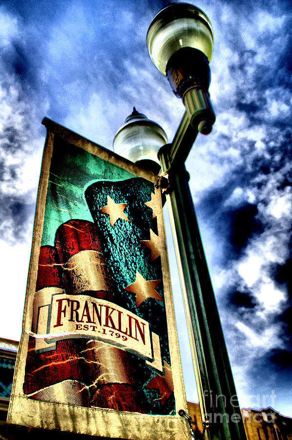 Historic Downtown Franklin Photograph  - Historic Downtown Franklin Fine Art Print