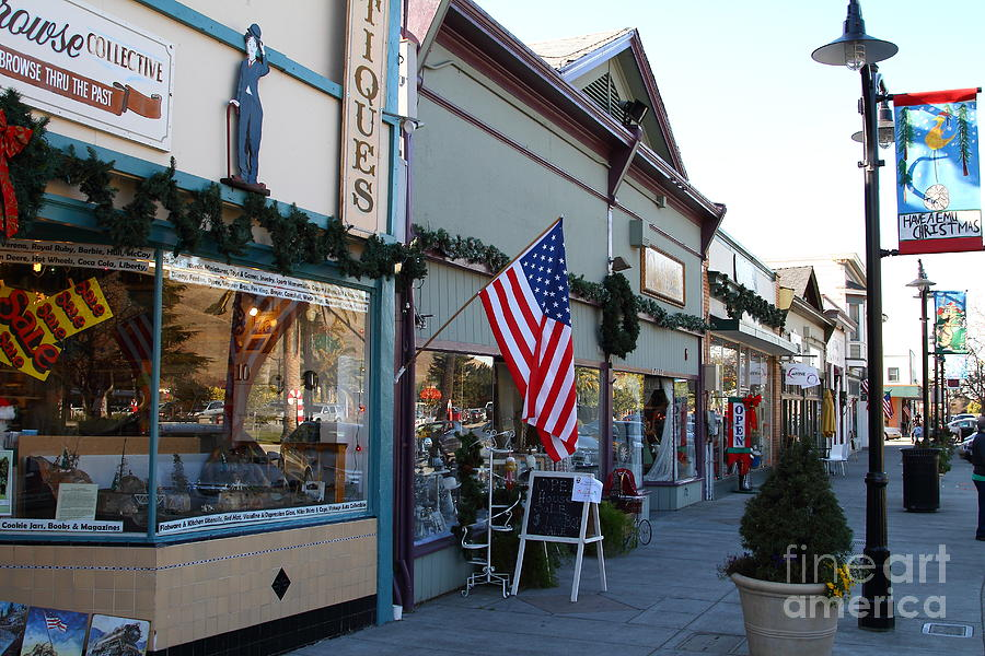 Historic Niles District In California Near Fremont . Main Street . Niles Boulevard . 7d10701 Photograph