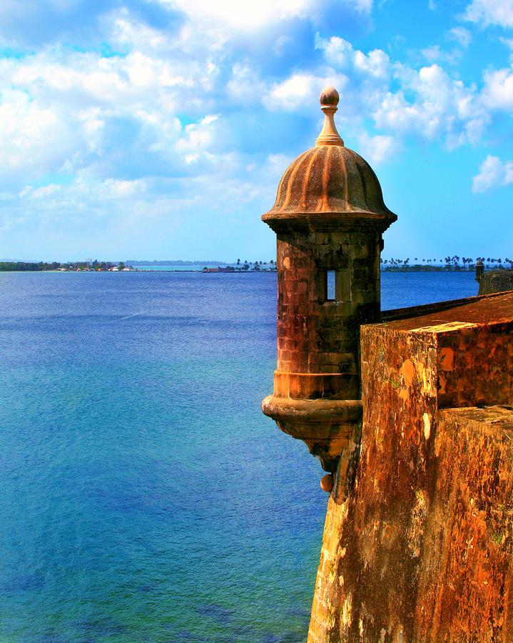 Historic San Juan Fort Photograph