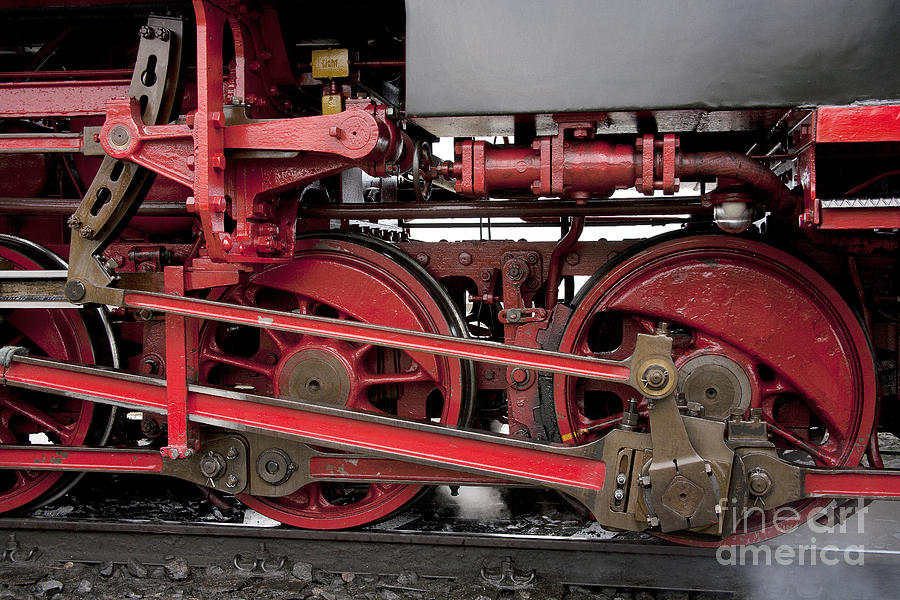 Heiko Photograph - Historical Steam Train by Heiko Koehrer-Wagner