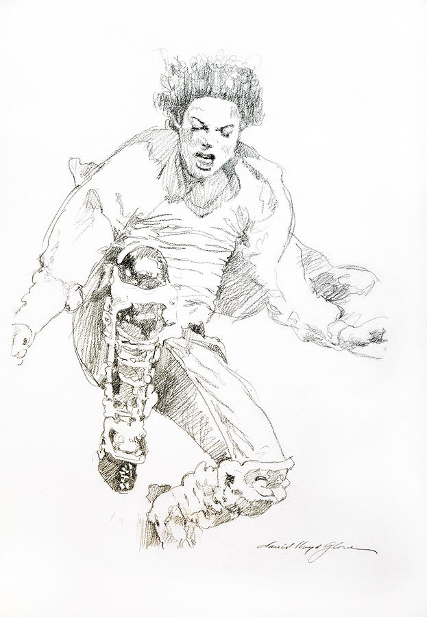 History Concert - Michael Jackson Drawing