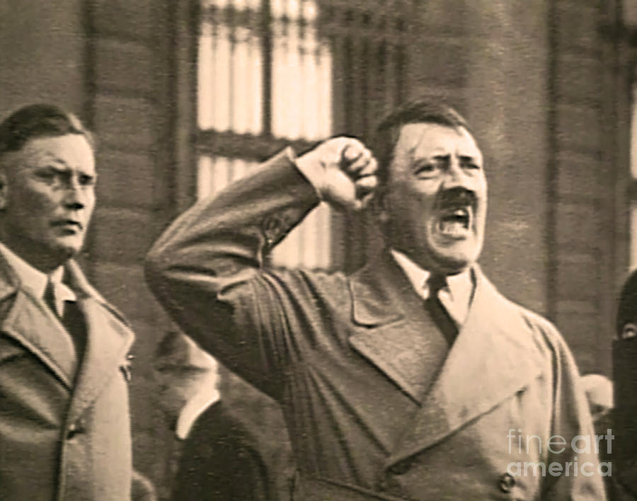Hitler The Orator Photograph