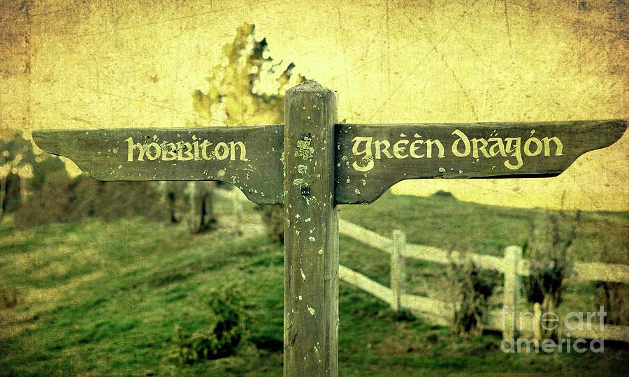Hobbiton Signage Photograph