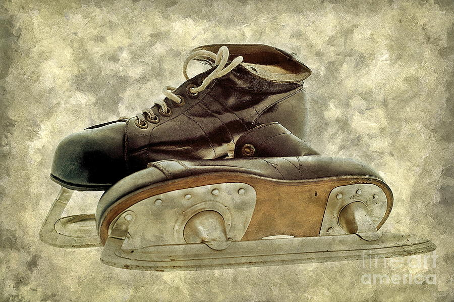 Hockey Boots Photograph
