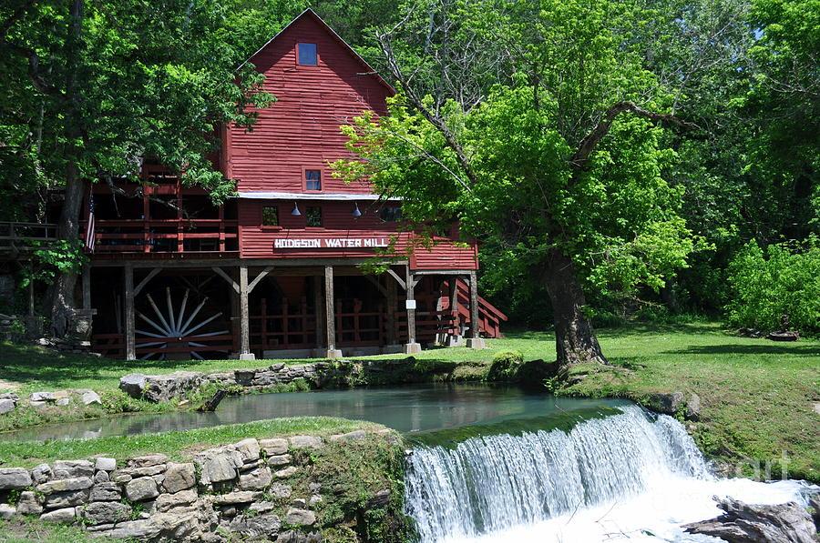 Hodgen Mill Photograph - Hofgens Mill by Marty Koch