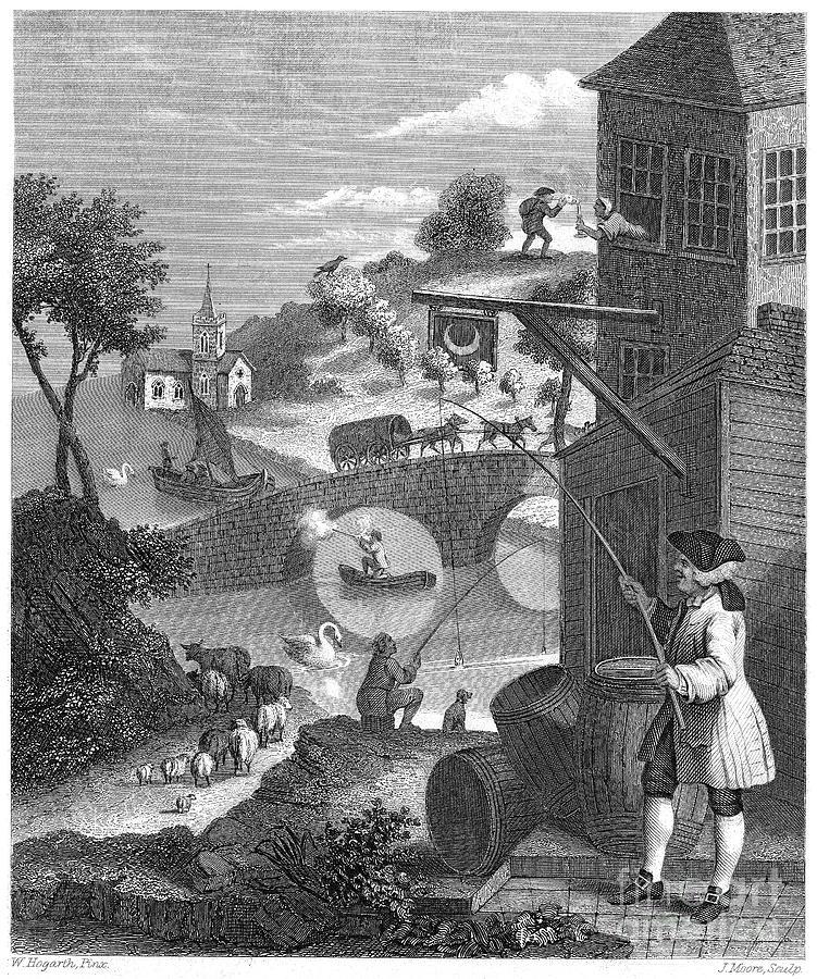 Hogarth: False Perspective Photograph