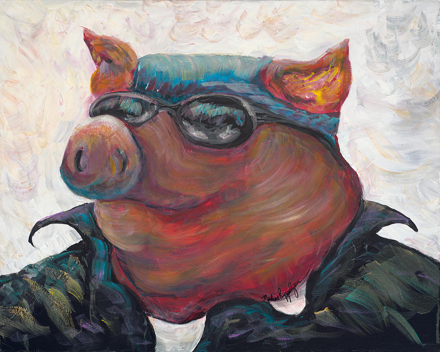 Hogley Davidson Painting