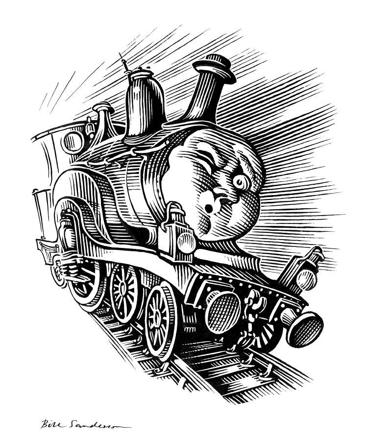 Holiday Train, Conceptual Artwork Photograph