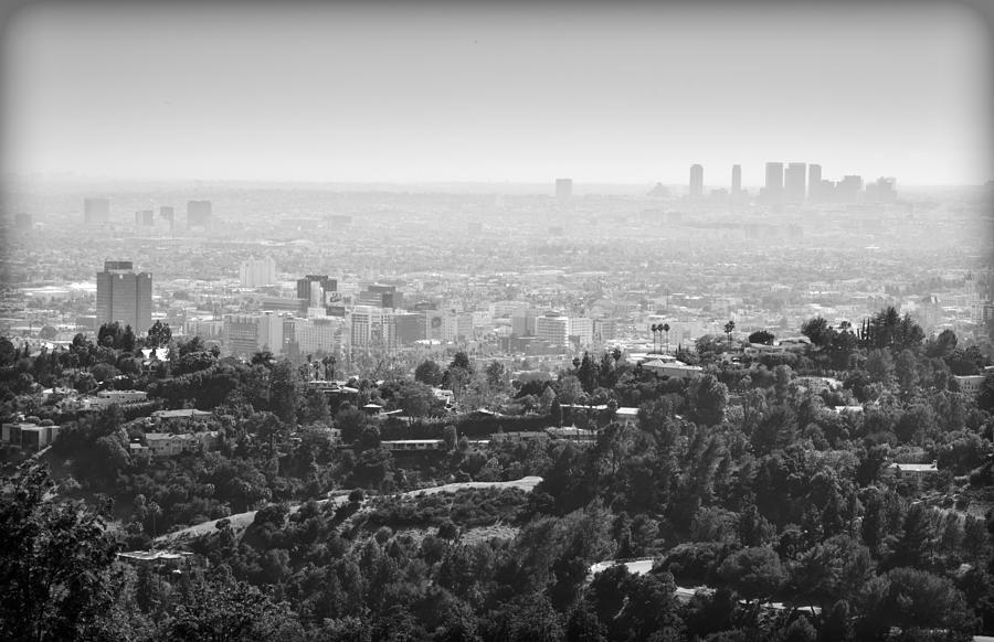 Hollywood From Above Photograph  - Hollywood From Above Fine Art Print