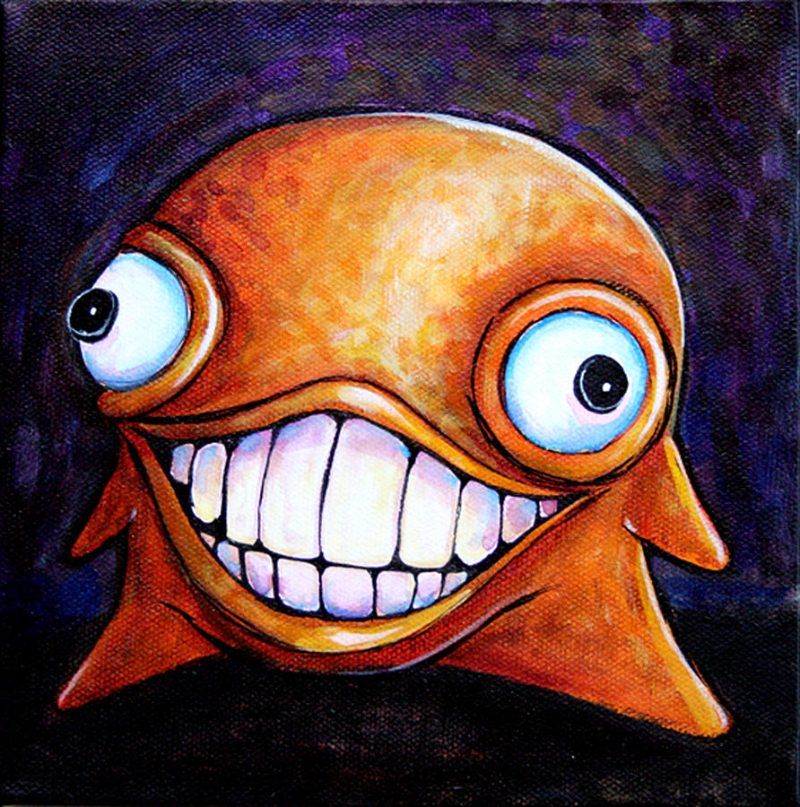 Hollywood Glob Painting  - Hollywood Glob Fine Art Print