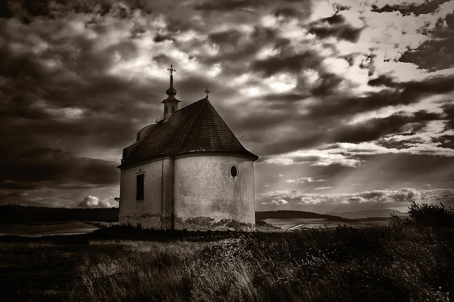 Chapel Photograph - Holy Cross Chapel by Tom Bell
