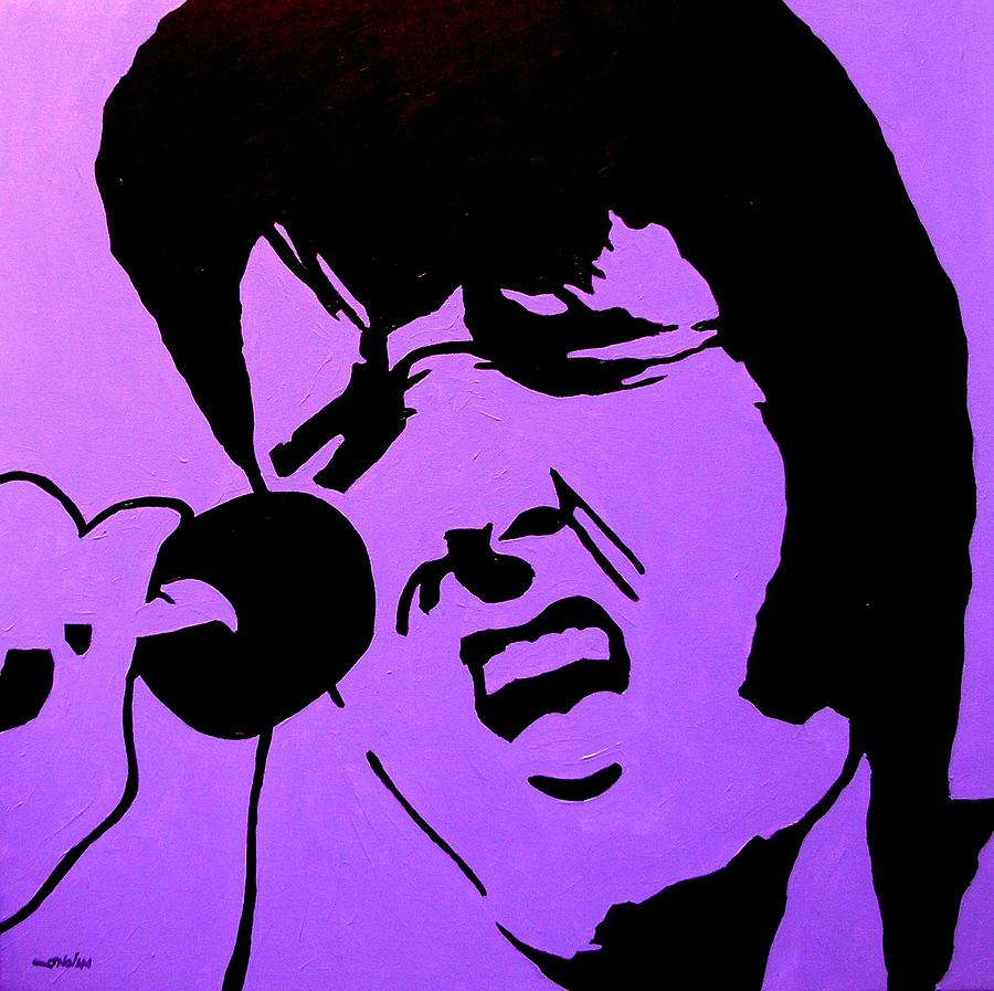 Homage To Elvis Painting