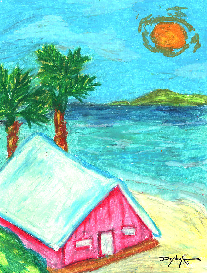 Home By Shore Mixed Media