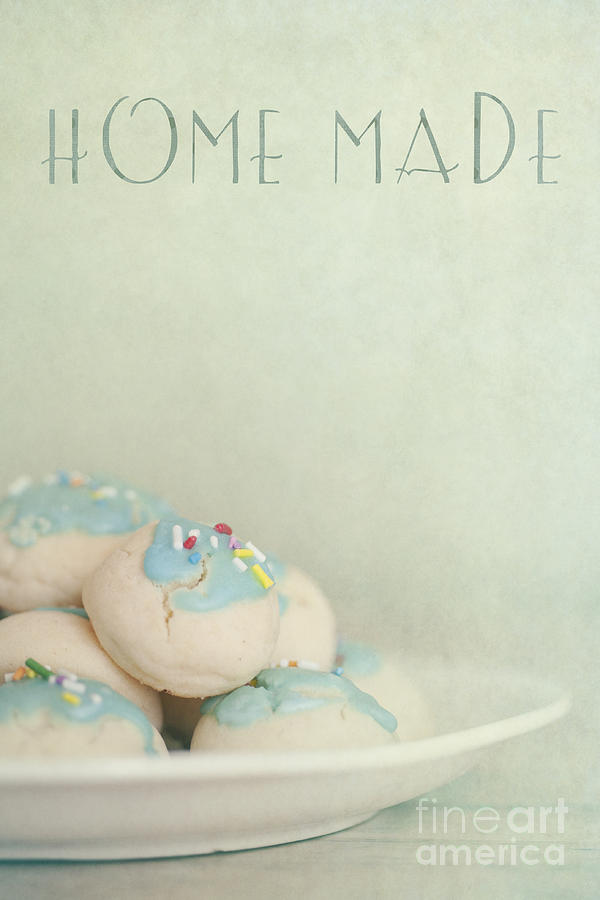 Home Made Cookies Photograph  - Home Made Cookies Fine Art Print