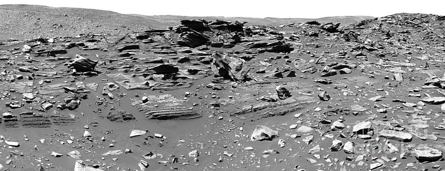 Home Plate, Mars Photograph