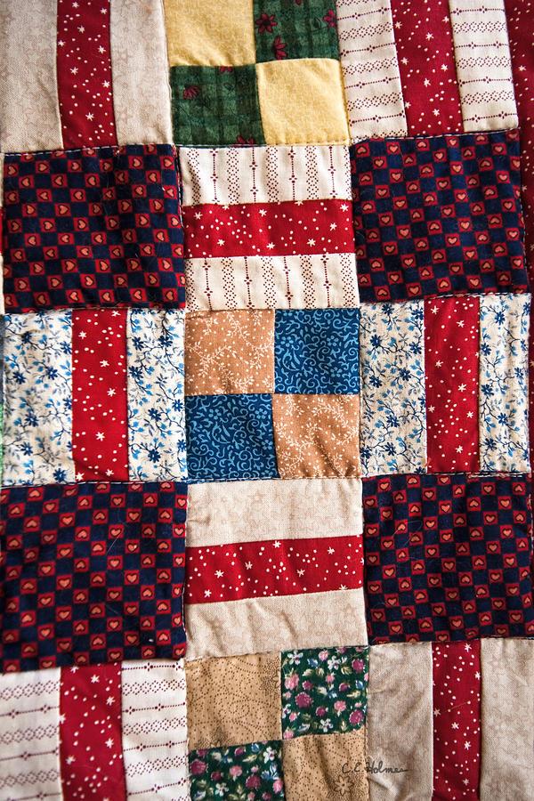 Homemade Quilt Photograph