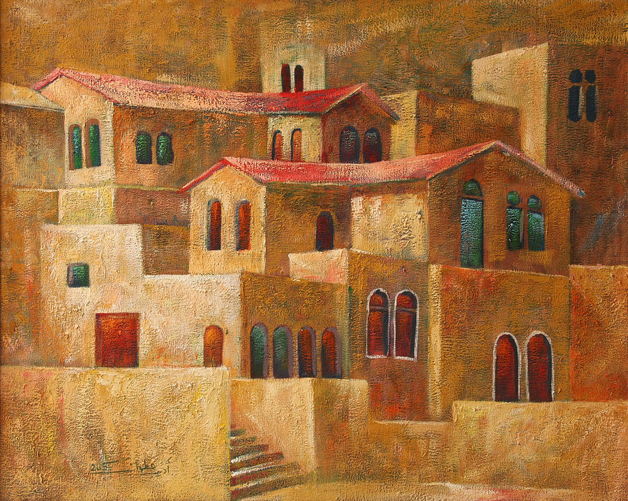 Homes Painting  - Homes Fine Art Print