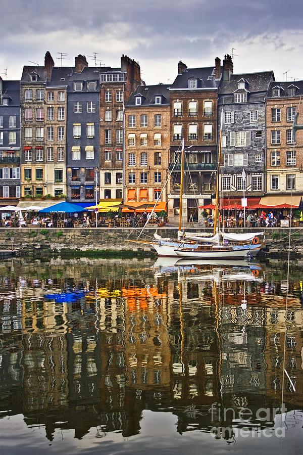 Honfleur France Photograph