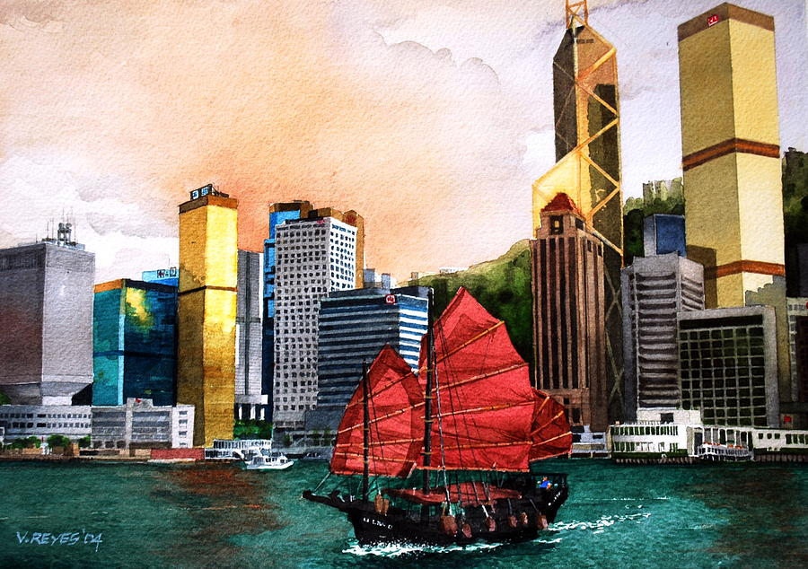 hong kong by v reyes