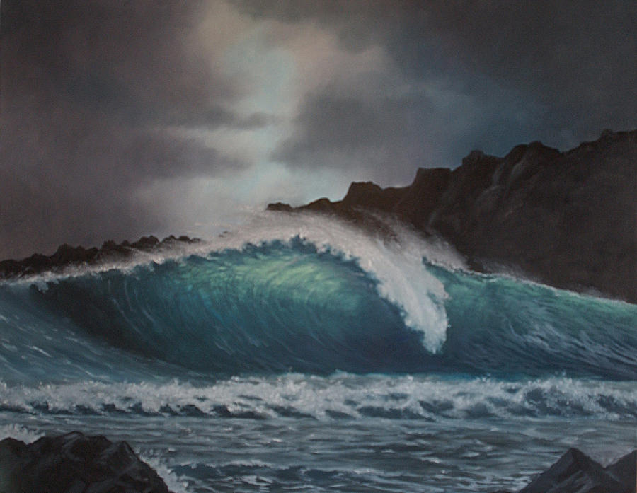 Honolua Break Painting  - Honolua Break Fine Art Print