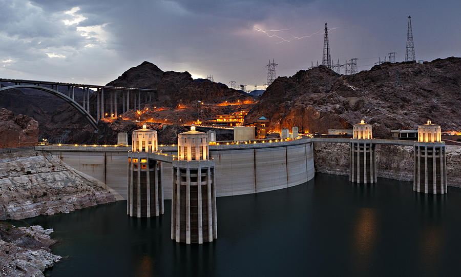 Hoover Dam Photograph  - Hoover Dam Fine Art Print