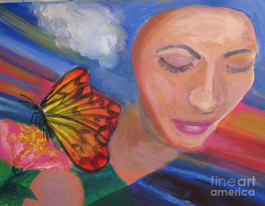 Hope Painting  - Hope Fine Art Print
