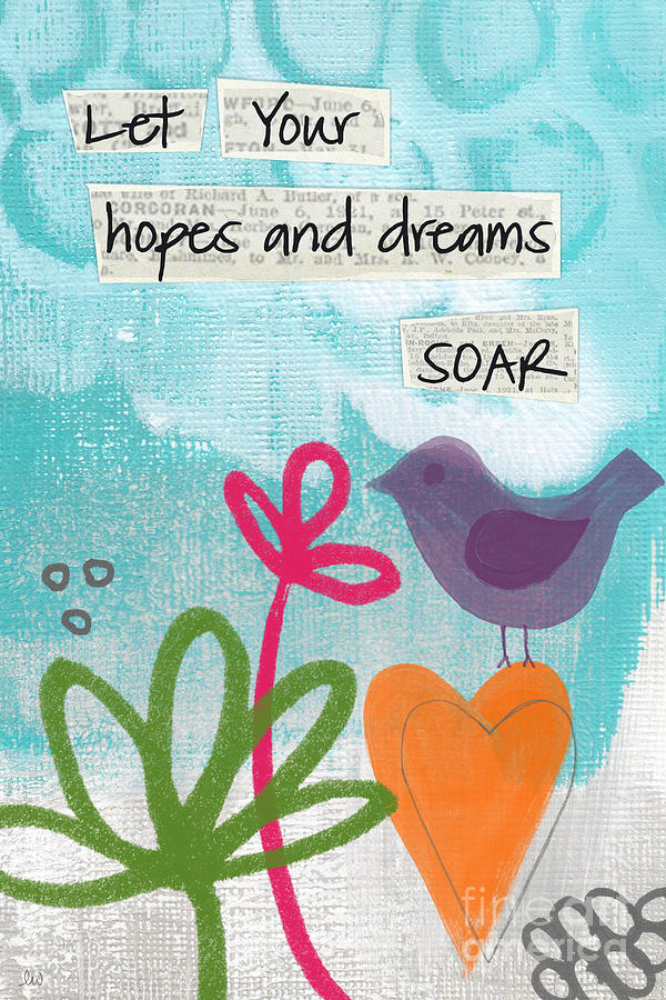 Hopes And Dreams Soar Painting